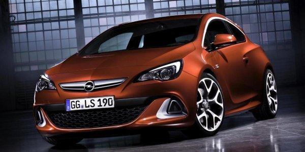 Officiel: Opel Astra GTC OPC 2012