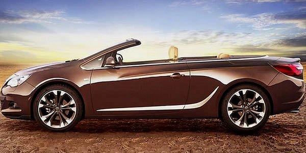 L'Opel Cascada (entièrement) dévoilée