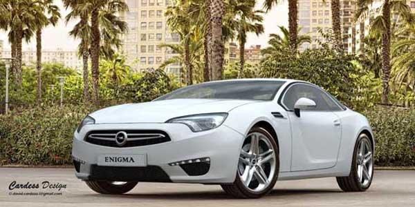 Opel Enigma : la future Calibra ?