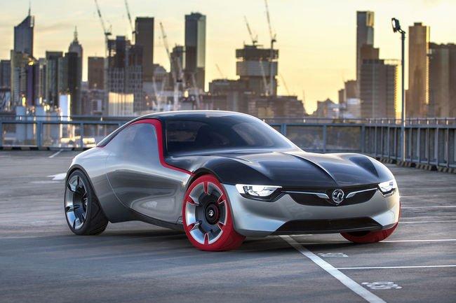 Opel dévoile l'habitacle de son concept GT