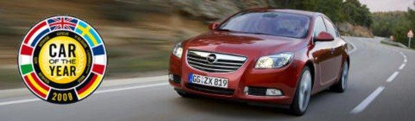 L'Opel Insignia élue voiture de l'année