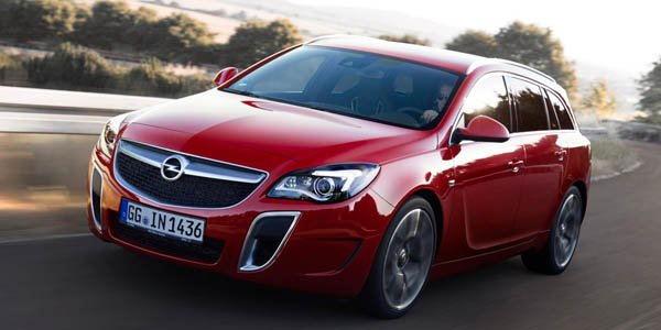 Opel Insignia OPC : timides retouches