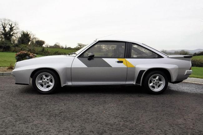 Une rare Opel Manta 400 de 1984 aux enchères