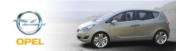 Opel Meriva Concept : portes ouvertes