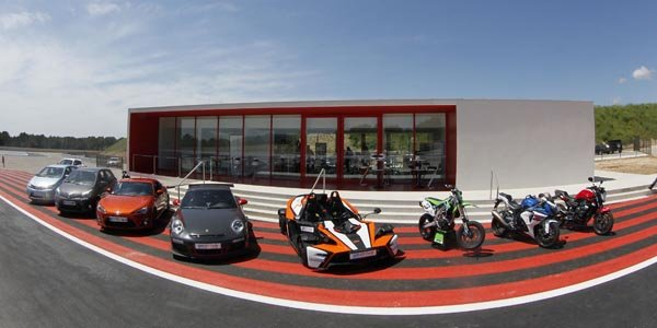 Ouverture du Driving Center au Castellet