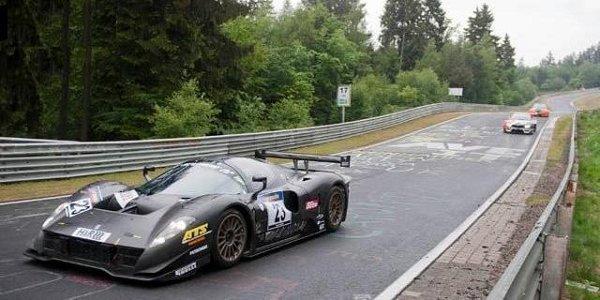 24H Nürburgring 2011: la P4/5 C en vidéos
