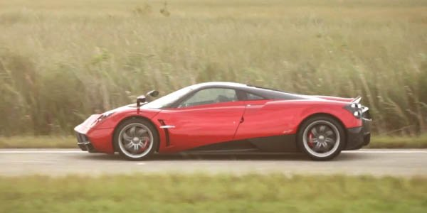 Pagani Huayra Roadster : encore deux ans d'attente
