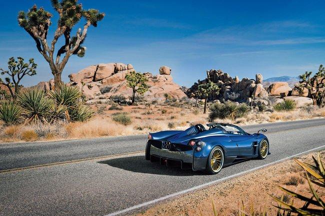 Genève : Pagani Huayra Roadster