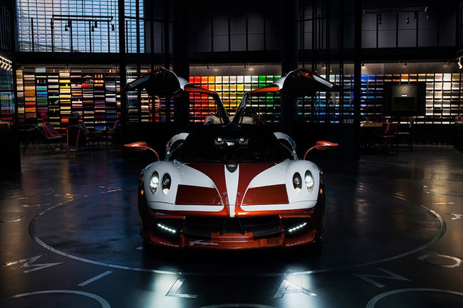 Pagani Huayra Lampo par Garage Italia Customs