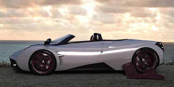Une idée de la Pagani Huayra Roadster