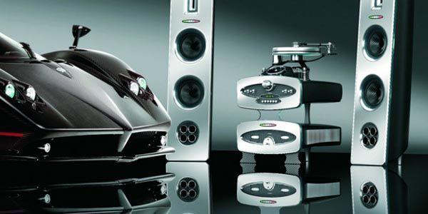 Anlage, le Sound System par Pagani