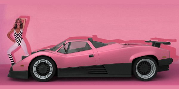 Fiction : Pagani Zonda de 1983