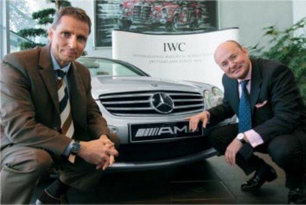 partenariat iwc et mercedes amg actualit automobile motorlegend. Black Bedroom Furniture Sets. Home Design Ideas