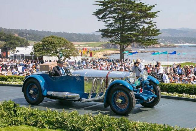 Pebble Beach : le Best of Show pour une Mercedes de 1929