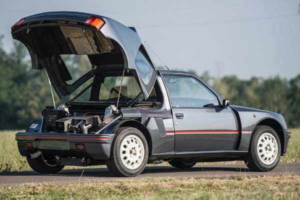 une peugeot 205 t16 aux ench res rm sotheby 39 s de londres actualit automobile motorlegend. Black Bedroom Furniture Sets. Home Design Ideas