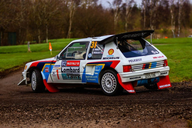Silverstone Auctions : Peugeot 205 T16