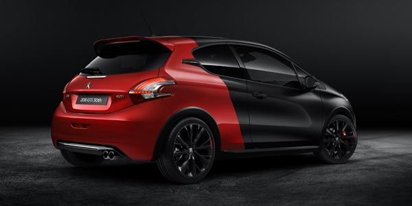 Peugeot dévoile sa 208 GTi 30th à Goodwood