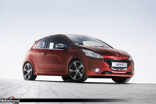 la peugeot 208 gti concept fait sa promo actualit automobile motorlegend. Black Bedroom Furniture Sets. Home Design Ideas