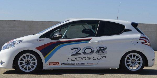 peugeot sport d voile sa 208 racing cup actualit automobile motorlegend. Black Bedroom Furniture Sets. Home Design Ideas