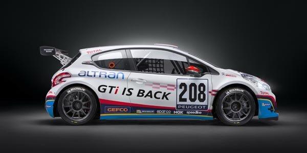 208 GTI Peugeot Sport sur le Ring