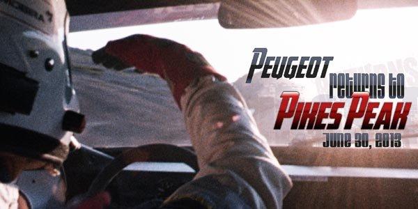 Peugeot à la reconquête de Pikes Peak !