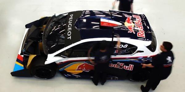 Vidéo : la Peugeot 208 T16 en time lapse