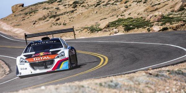 Sébastien Loeb roi de Pikes Peak