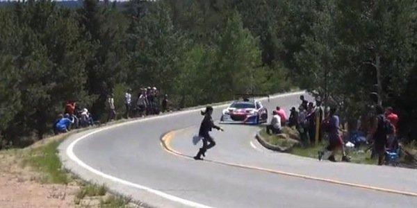 Loeb a frôlé le drame lors de son record