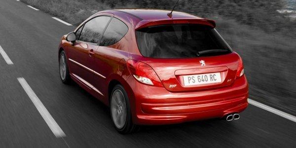 Peugeot 208 RC 2012: plus de 200 ch