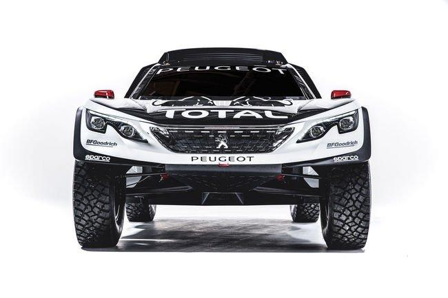 Peugeot lève le voile sur son nouveau 3008 DKR