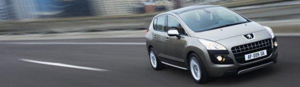 Premières images de la Peugeot 3008