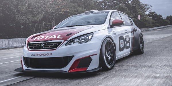 Peugeot 308 Racing Cup : taillée pour la piste