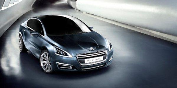 Le concept 5 by Peugeot à Genève