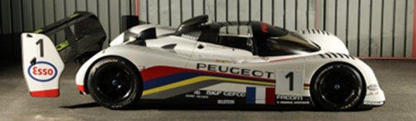 Une Peugeot 905 aux enchères le 14 juin