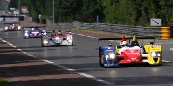 Le Mans : Oreca en Peugeot 908