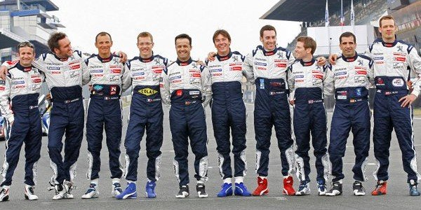 L'équipe Peugeot à Chamonix