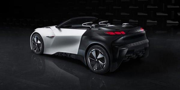 Salon de Francfort : Peugeot Fractal concept
