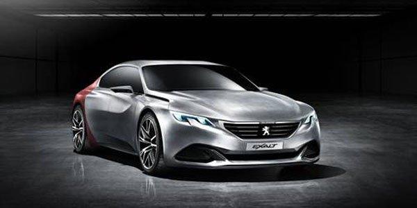 Peugeot Exalt Concept : un cocktail de matériaux