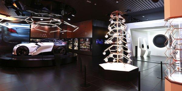 Le concept Fractal s'expose à Peugeot Avenue