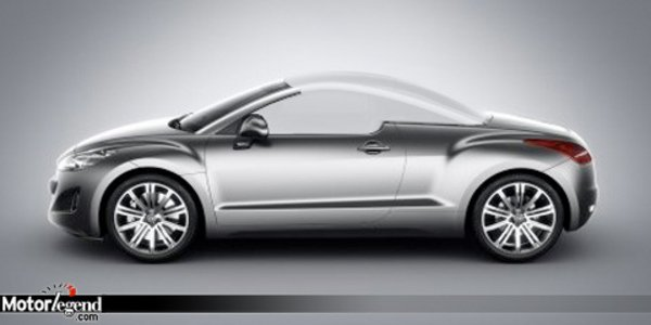 Le Peugeot RCZ se fait une toile