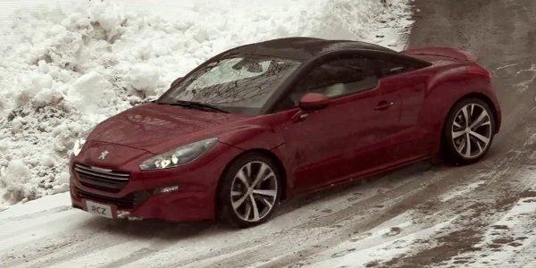 Vidéo : la Peugeot RCZ face à un VTT !