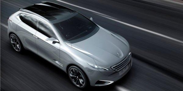 Peugeot SXC : la Chine en SUV