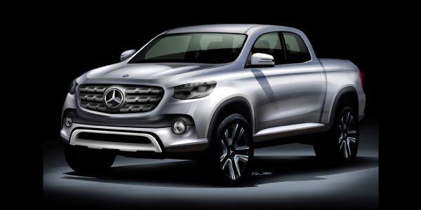 Pick-up Mercedes-Benz : ça se précise