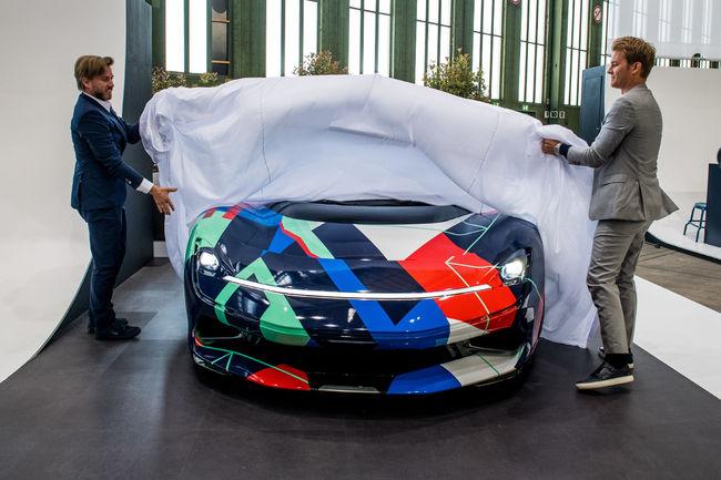 Un one-off Pininfarina Battista rend hommage à Leonard de Vinci