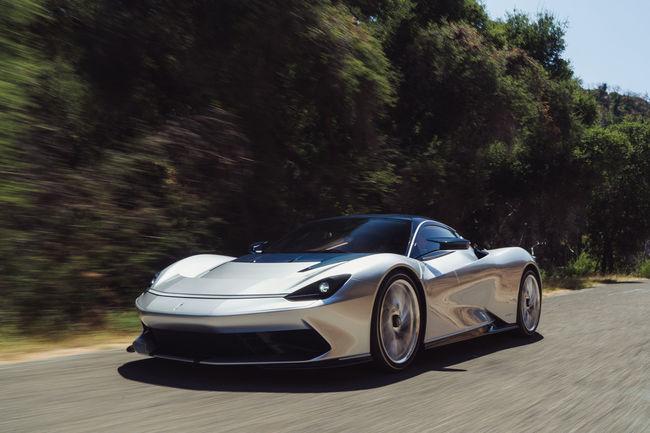 La future Pininfarina PURA Vision présentée à Monterey