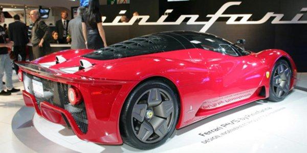 La Ferrari P4/5 en visite en France