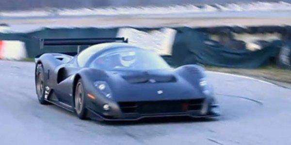 Ferrari P4/5 Competizione, elle roule