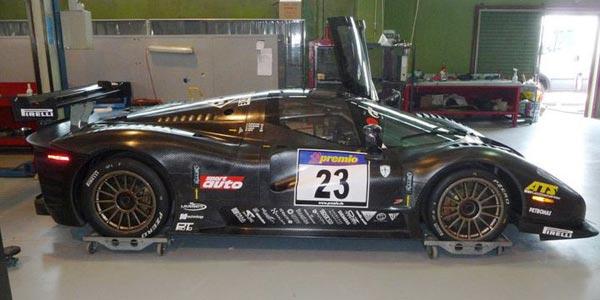 La Ferrari P4/5 en livrée course