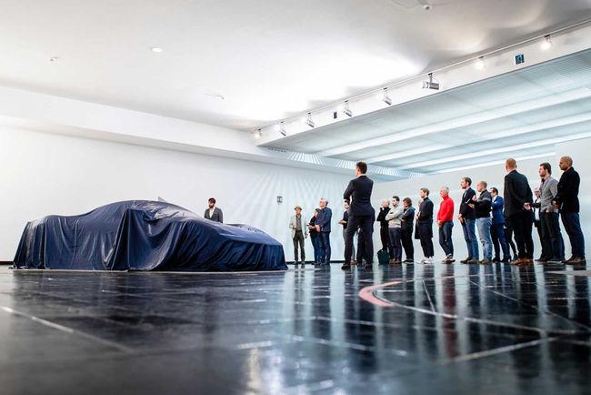 Hypercar Pininfarina PF0 : nouvelles images