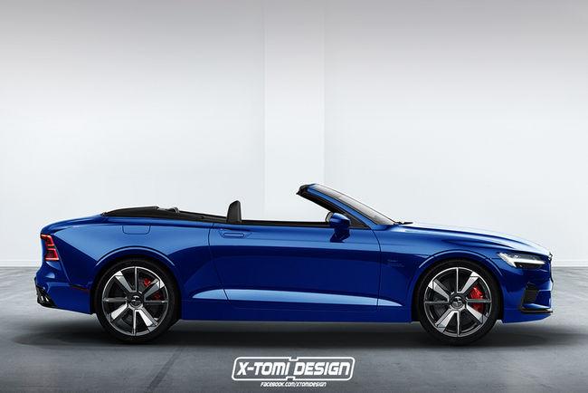 Polestar 1 cabriolet et shooting brake par X-Tomi Design